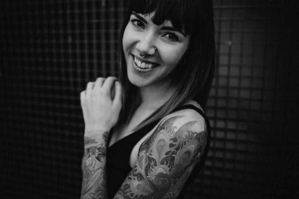 portret rotterdam city tattoos USA model