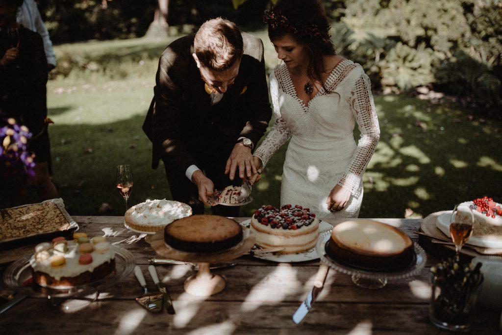 bohemian wedding trouwen ouddorp rotterdam moerkapelle land van belofte weddingcake