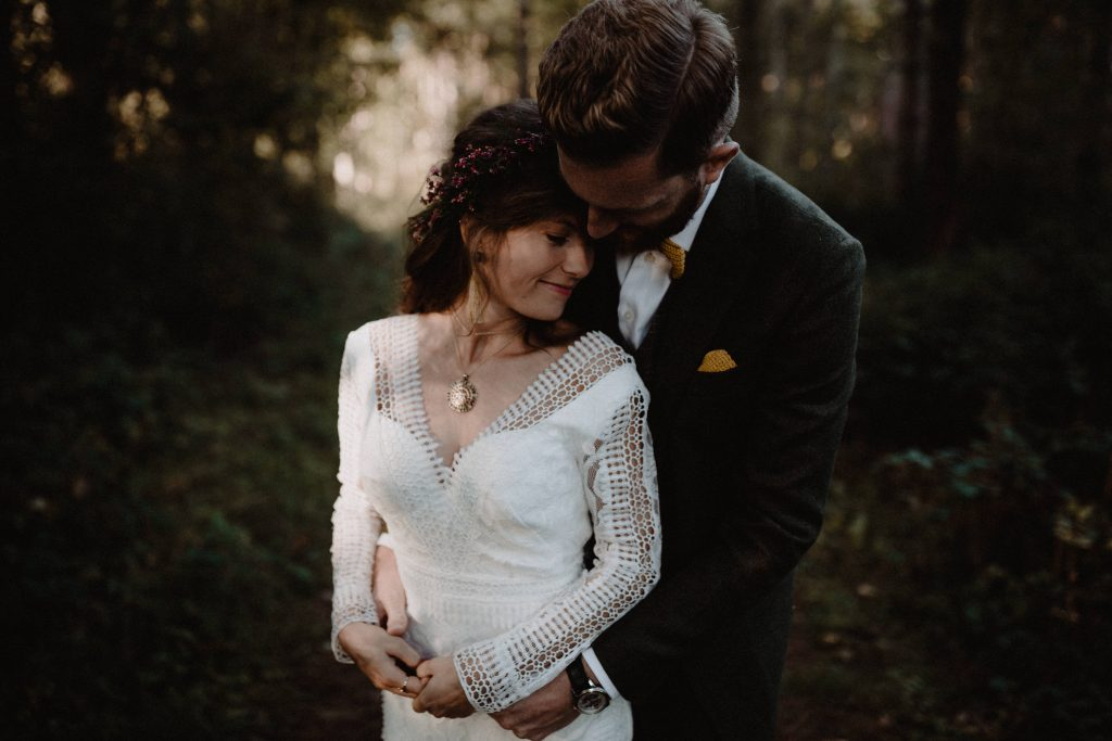 bohemian wedding trouwen ouddorp rotterdam moerkapelle weddingshoot bos duinen