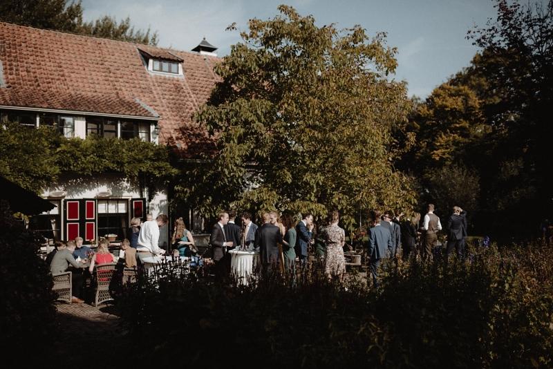 bohemian bruiloft land van belofte moerkapelle ceremonie ceremonie buiten