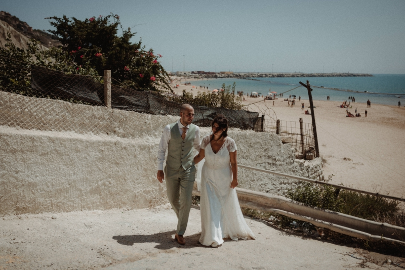 destination wedding sicily italy licata bruiloft buitenland shoot beach