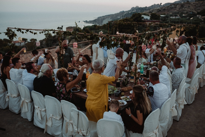 destination wedding sicily italy licata bruiloft buitenland wedding diner
