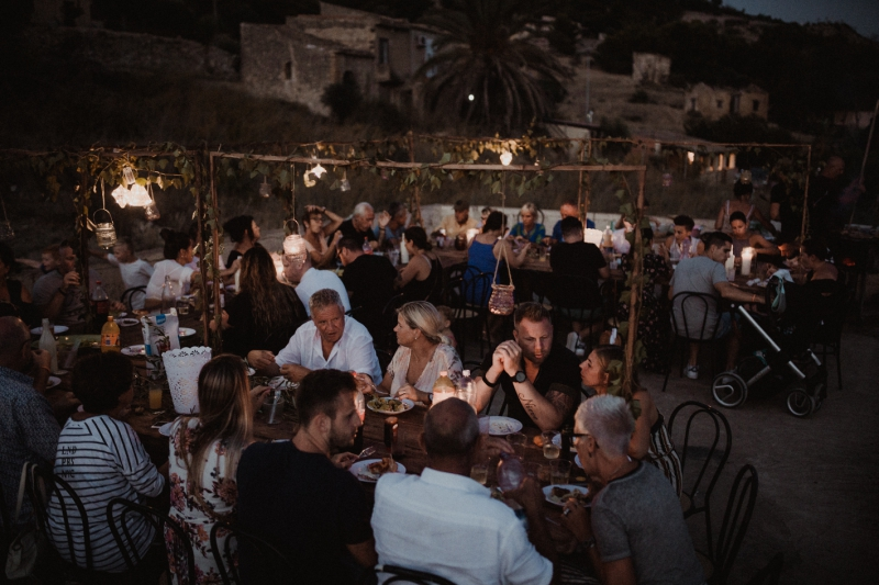 destination wedding sicily italy licata bruiloft buitenland wedding shoot diner
