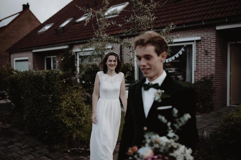 first look bruiloft domburg zeeland joran looij photography