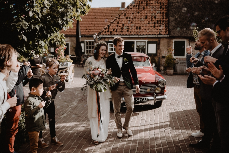 wedding toast bruiloft domburg zeeland joran looij photography