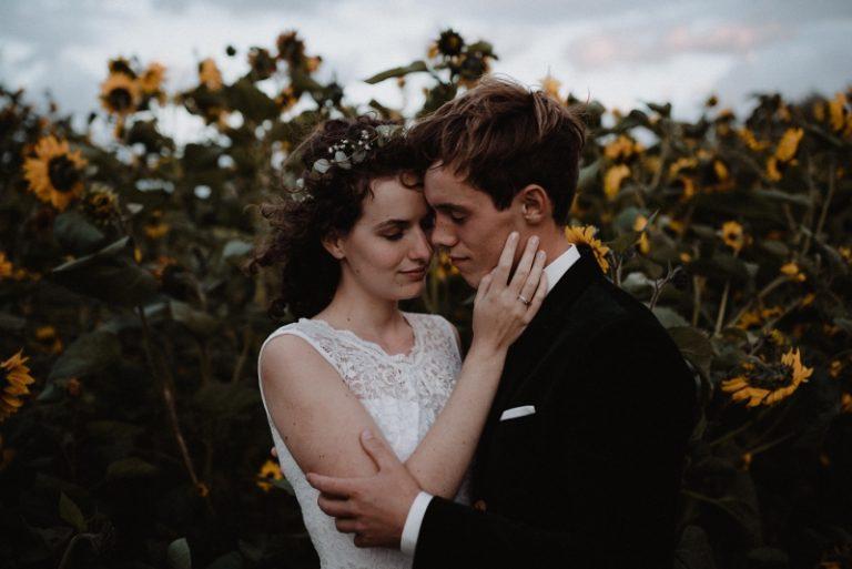 bohemian bruiloft zeeland natuur