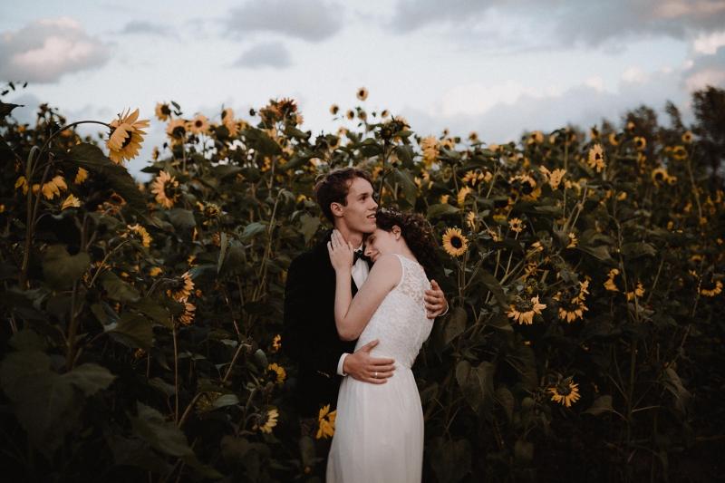 shoot sunset zonsondergang zonnebloemen bruiloft domburg zeeland joran looij photography