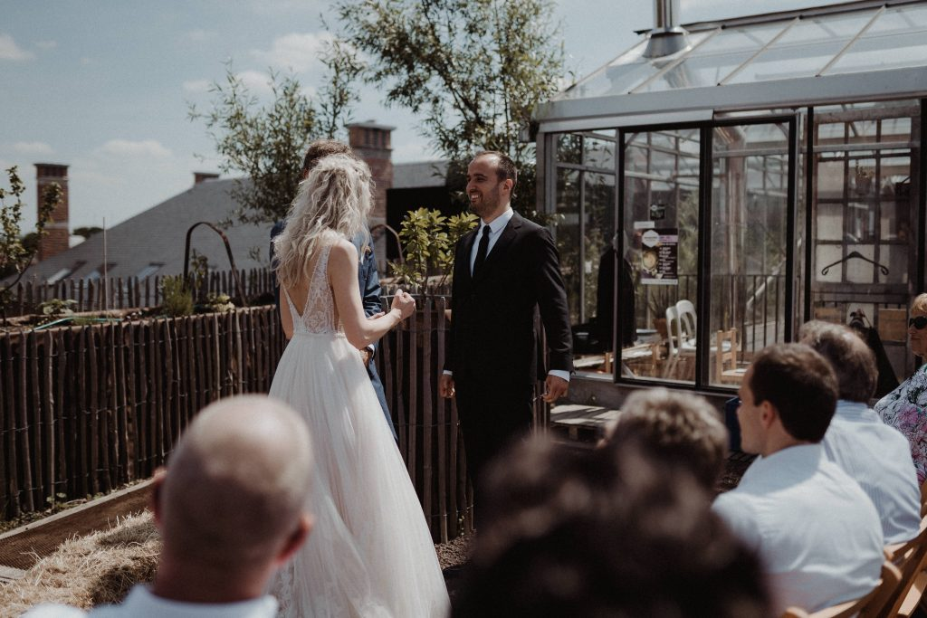 wedding antwerp citywedding wedding photographer belgium rooftop wedding ceremony pakt antwerp