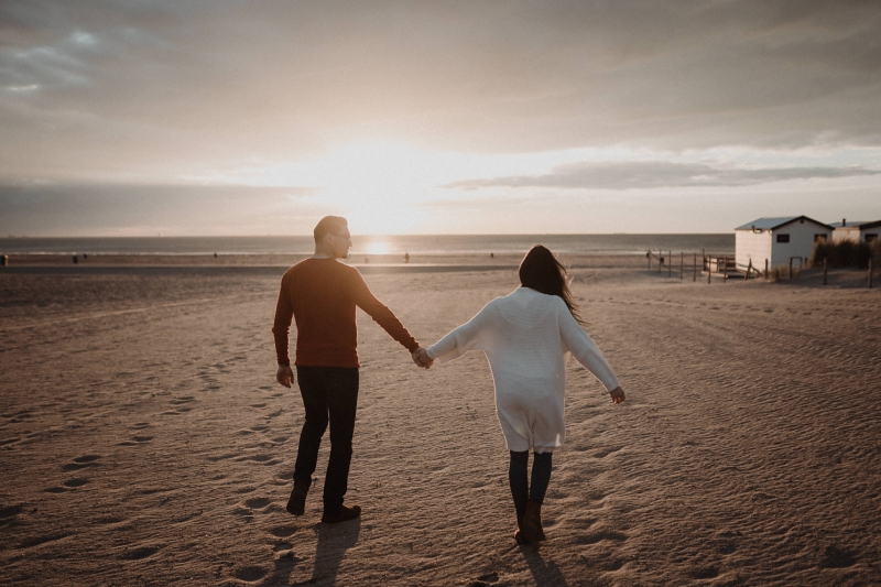 loveshoot strand duinen zonsondergang hoek van holland
