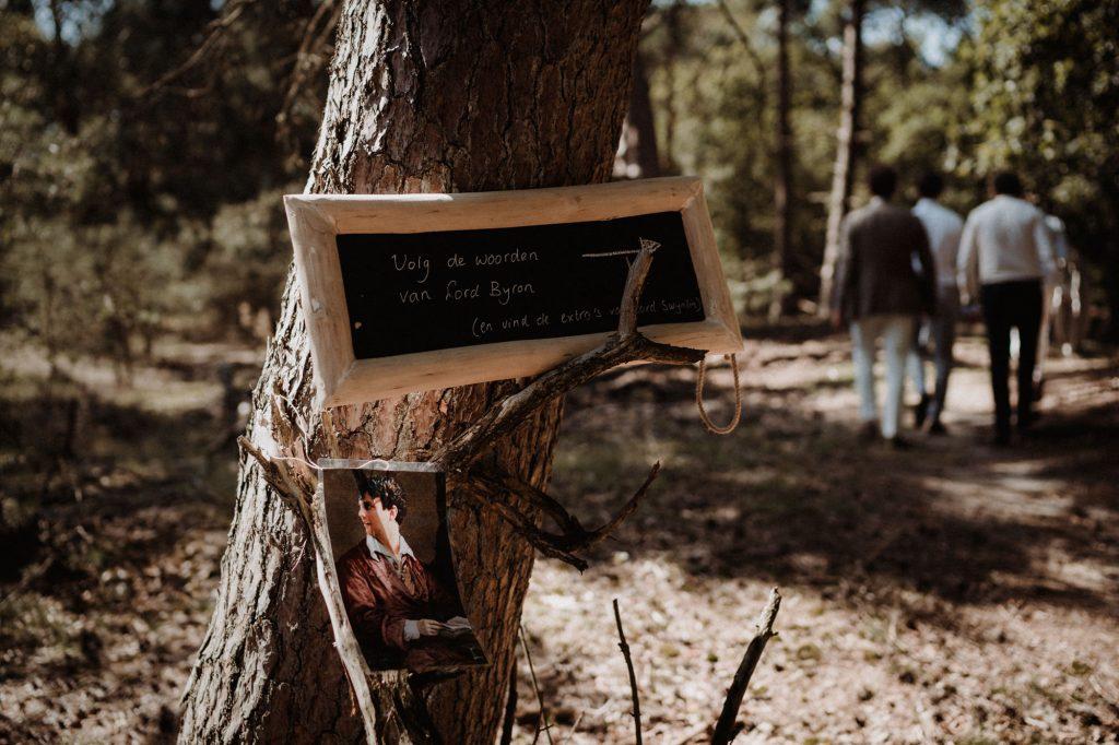 trouwfotograaf veluwe festivalbruiloft tuin