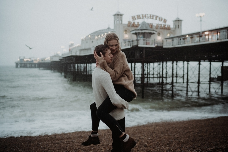 loveshoot rain coast brighton city