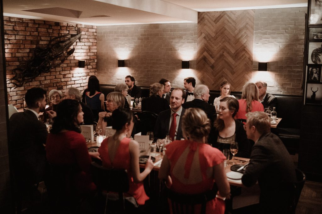 intieme bruiloft intimate winter wedding amsterdam diner