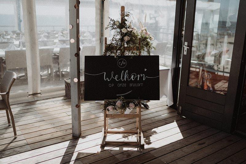 huisstijl bruiloft zeeland studio melt